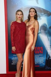 """Mandy Moore & Claire Holt – """"47 Meters Down"""" Premiere in Los Angeles, CA 06/12/2017"""
