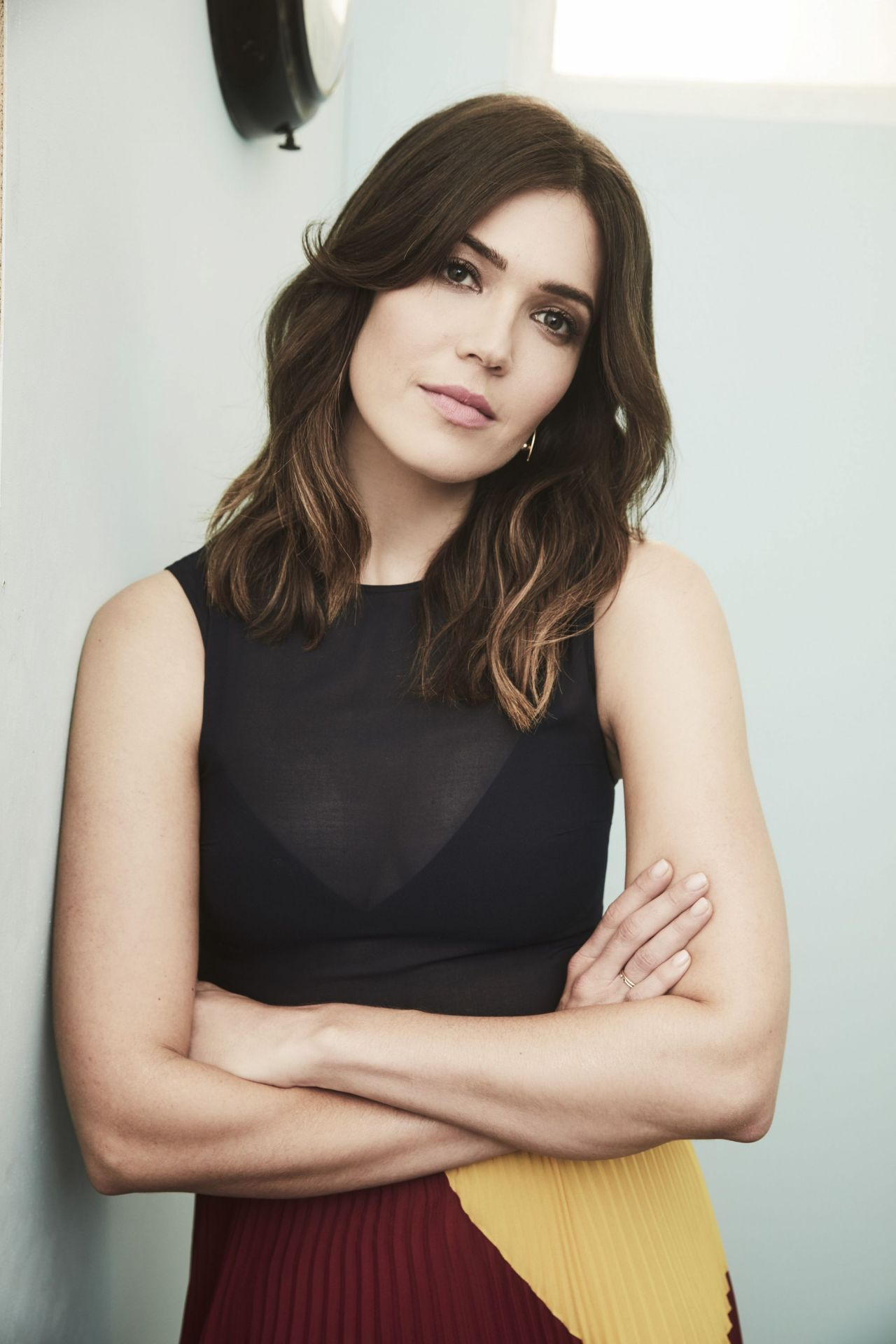 Mandy Moore Nbc Universal Press Tour 2017 Portraits