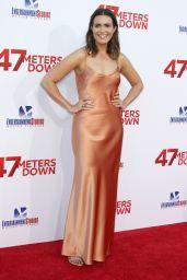 """Mandy Moore on Red Carpet - """"47 Meters Down"""" Premiere in Los Angeles, CA 06/12/2017"""