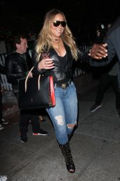 Mariah Carey Night Out - The Ivy Restaurant in Beverly Hills 06/06/2017