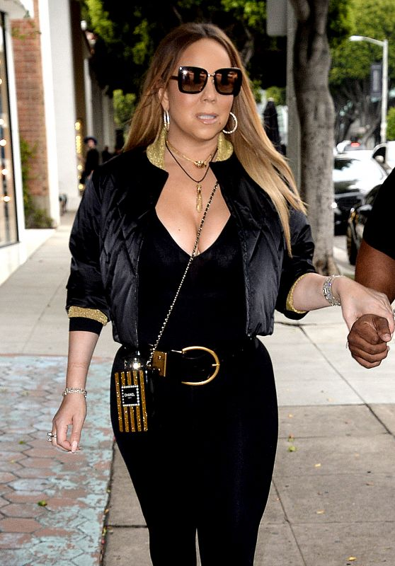 Mariah Carey - Shops at Chanel on Robertson Blvd in LA 06/08/2017