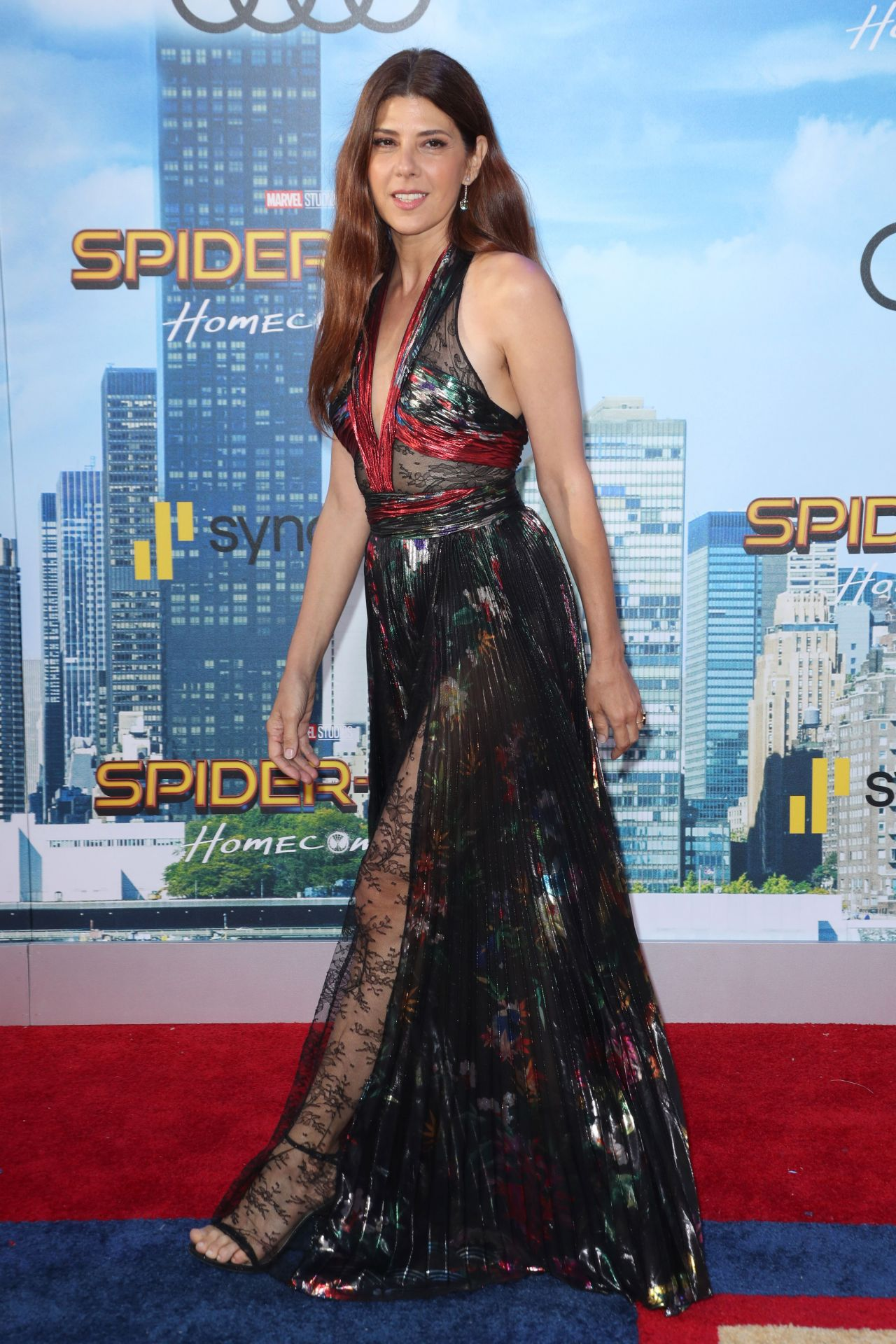 Marisa Tomei Spider Man Homecoming Premiere In