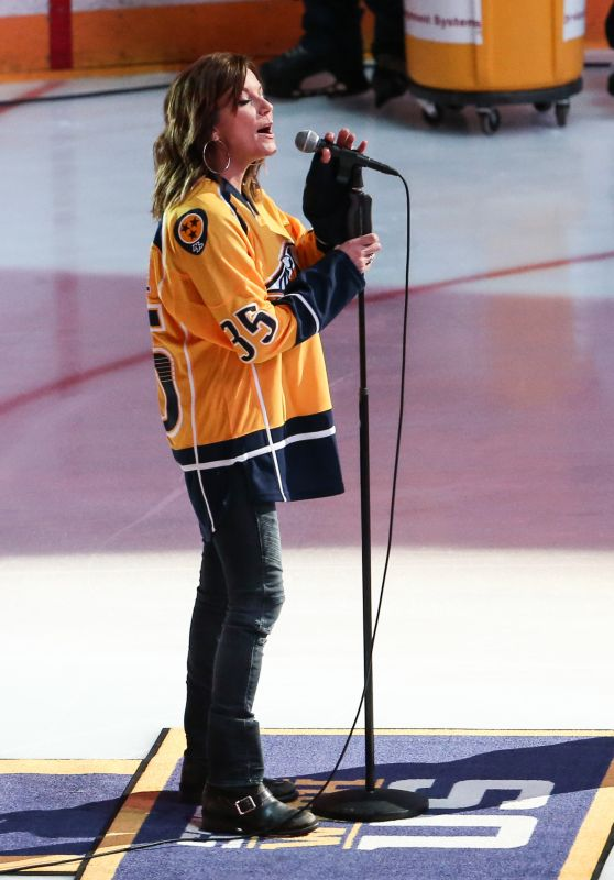 Martina McBride - 2017 NHL Stanley Cup Final - Game Three in Nashville, Tennessee 06/03/2017