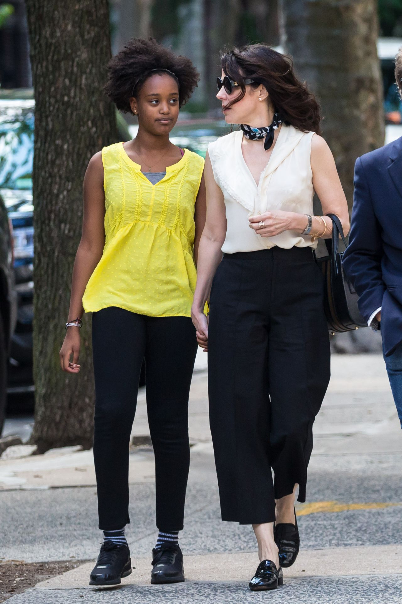 Mary Louise Parker With Her Daughter in Brooklyn 06/22/2017
