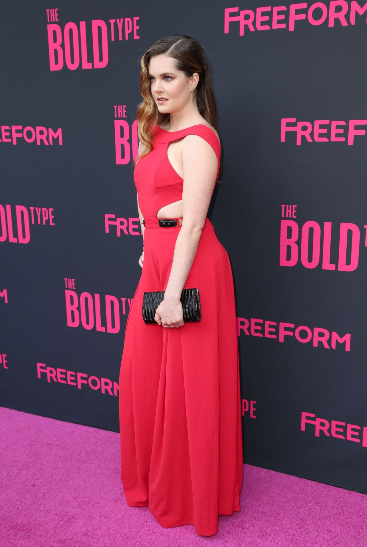meghann fahy the bold type tv show premiere in nyc 06 22 2017. Black Bedroom Furniture Sets. Home Design Ideas