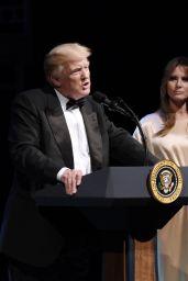 Melania Trump at a Reception at the Ford