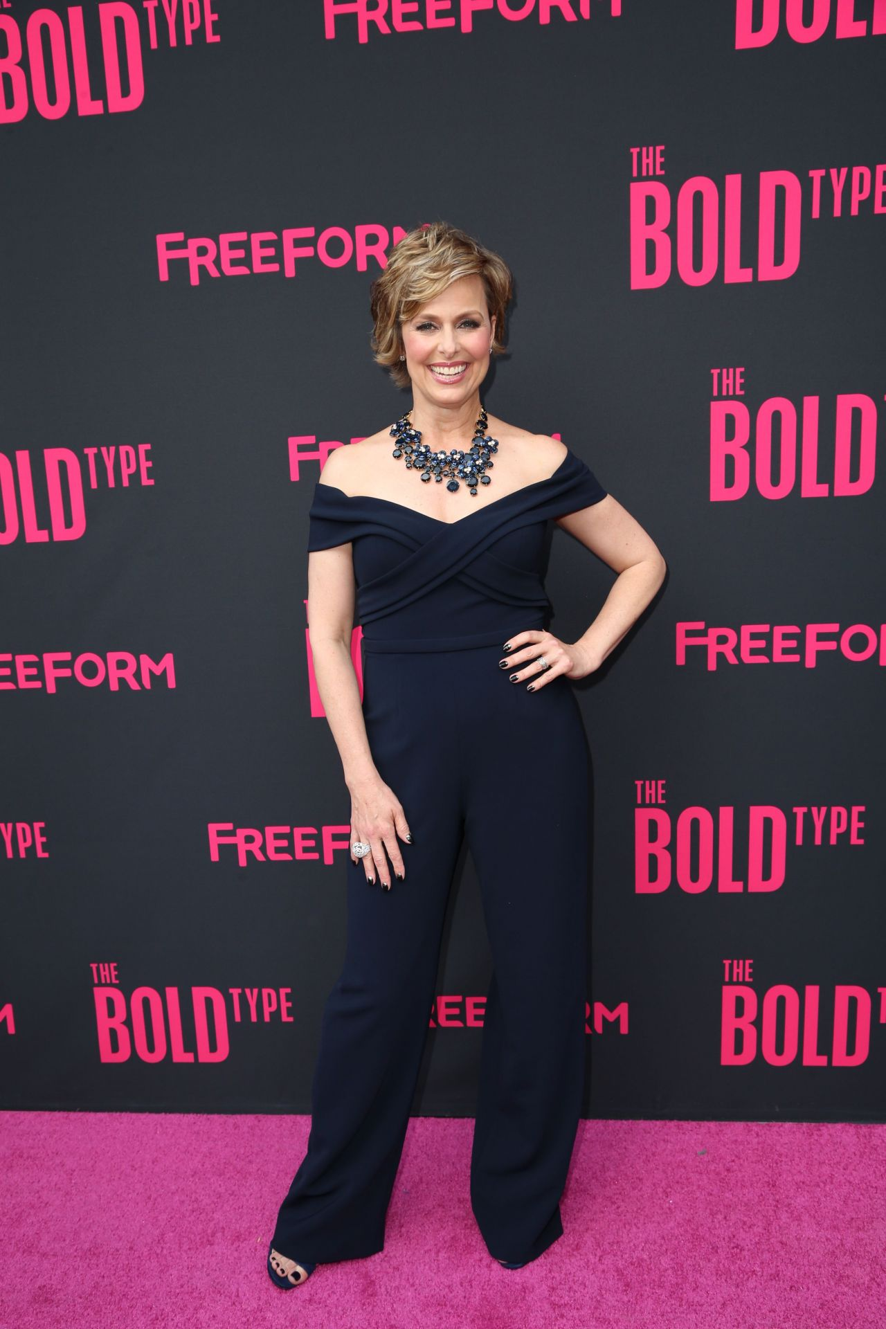 melora hardin the bold type tv show premiere in nyc 06 22 2017. Black Bedroom Furniture Sets. Home Design Ideas