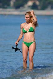 Michelle Hunziker in Bikini - Varigotti, Italy 06/11/2017