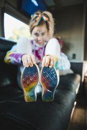 Miley Cyrus Photoshoot - Converse