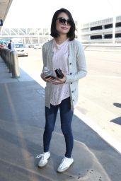 Miranda Cosgrove Casual Style - LAX Airport in LA 06/26/2017