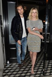 Mischa Barton Night Out Style - Leaving Craig
