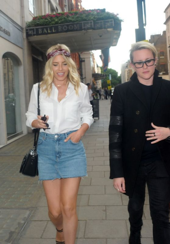 Mollie King With a Friend Out in London 06/12/2017