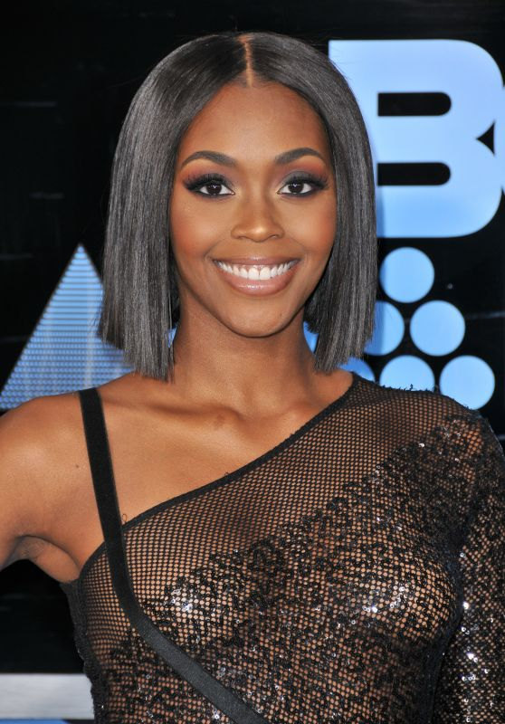 Nafessa Williams – BET Awards in Los Angeles 06/25/2017