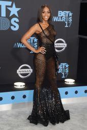 Nafessa Williams – BET Awards in Los Angeles 06/25/2017