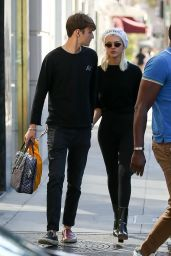Nicola Peltz and Anwar Hadid Wear Matching Black Outfits - Beverly Hills 06/19/2017
