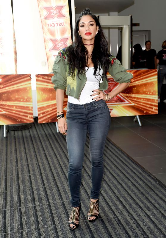 Nicole Scherzinger - X Factor Auditions in Manchester, England 06/25/2017