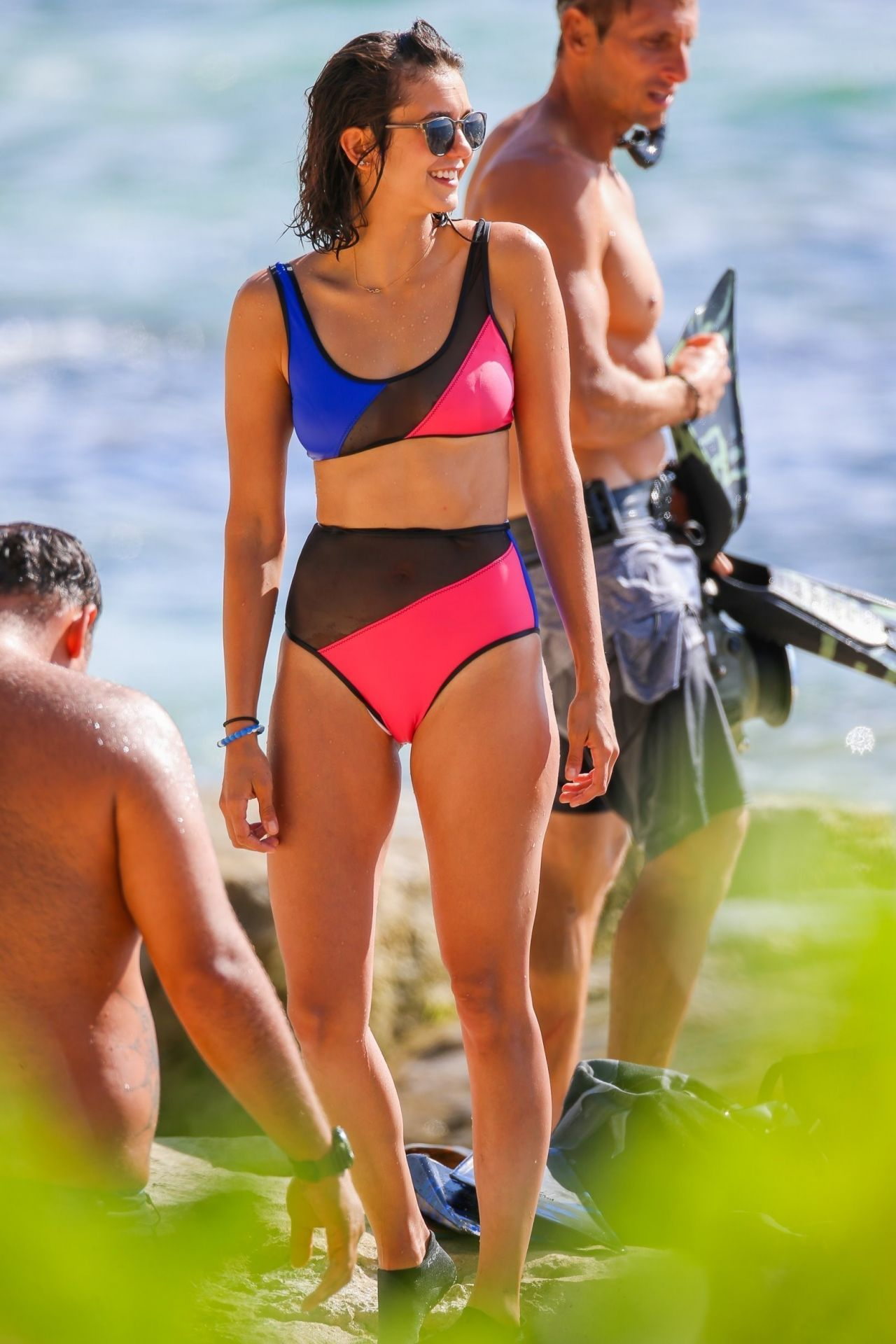 Nina Dobrev In Cheeky Bikini In Honolulu 06 24 2017