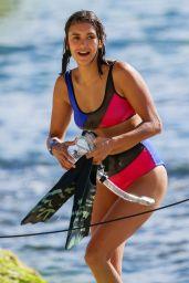 Nina Dobrev in Cheeky Bikini in Honolulu 06/24/2017