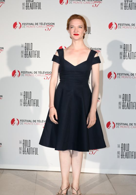 """Odile Vuillemin - """"The Bold and the Beautiful"""" Anniversary Event at Monte Carlo TV Festival 06/18/2017"""