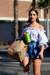 Olivia Culpo Cute Style - Shopping at Erewhon Natural Foods in LA 06/15/2017