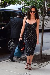 Olivia Munn at Her Hotel in Tribeca, New York 06/15/2017
