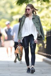 Olivia Palermo - Out in Brooklyn, New York 06/10/2017
