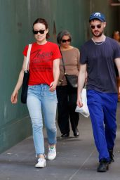 Olivia Wilde and Tom Sturridge - Out in New York 06/25/2017