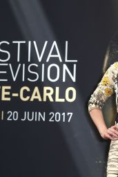 "Paget Brewster - ""Criminal Minds"" Photocall - Monte Carlo TV Festival 06/19/2017"