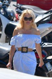 Pamela Anderson in St Tropez, France 06/29/2017