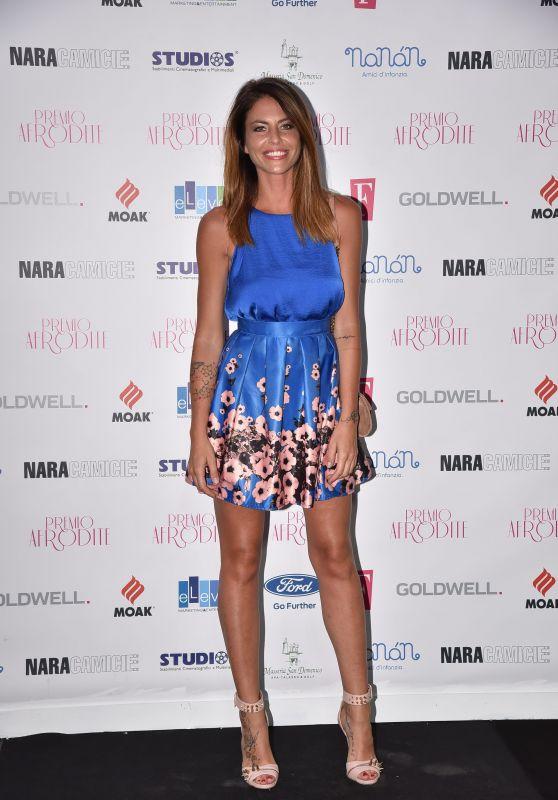 Pamela Camassa – Aphrodite Awards in Rome, Italy 06/21/2017