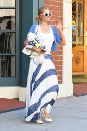 Paris Hilton in Maxi Skirt - Beverly Hills 06/26/2017