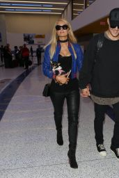 Paris Hilton With Her Boyfriend at the LAX Airport in Los Angeles 06/08/2017