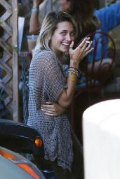 Paris Jackson With a Mystery Man in Hollywood 06/27/2017