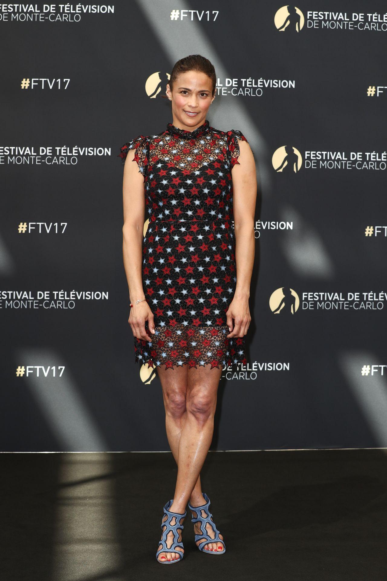 Paula Patton - Monte Carlo TV Festival 06/19/2017