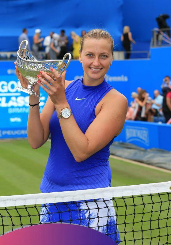 Petra Kvitova - Wins the Aegon Classic 2017 Tennis Championship in Birmingham