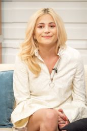 Pixie Lott Appeared on Good Morning Britain TV Show in London 06/23/2017