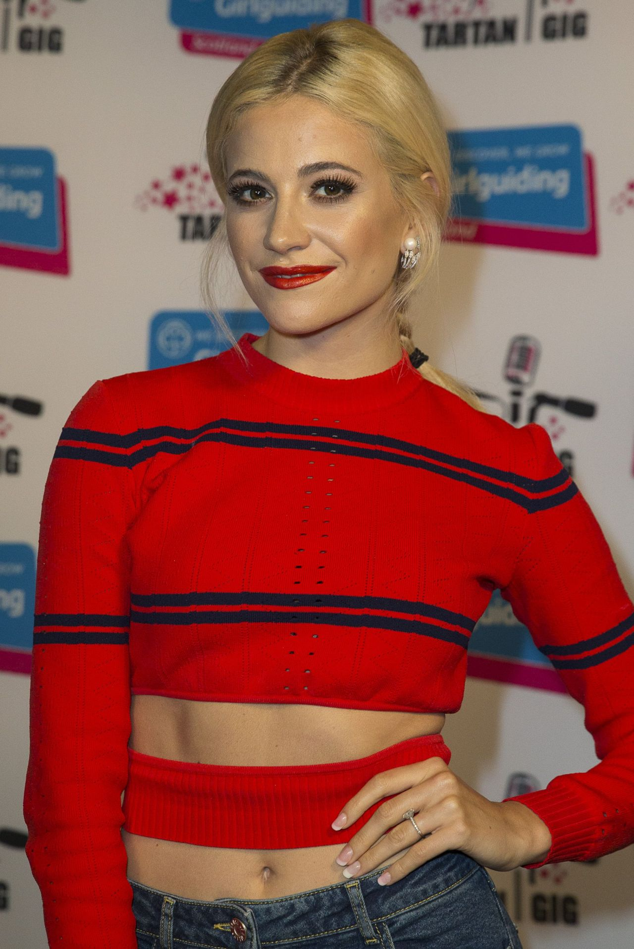 Pixie Lott at SSE Hydro Arena in Glasgow 06/17/2017