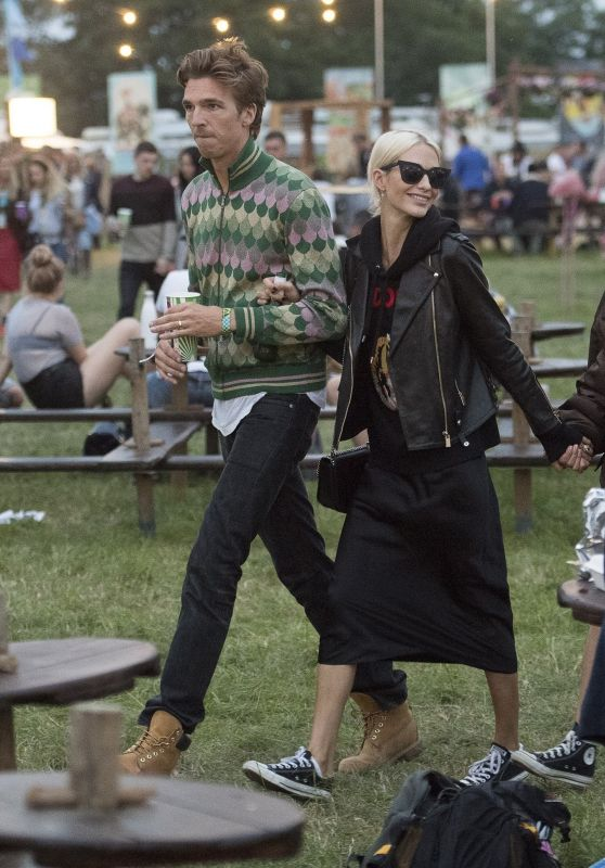 Poppy Delevingne and Husband James Cook - Glastonbury Festival 2017 in Pilton, England 06/23/2017