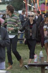 Poppy Delevingne and Husband James Cook - Glastonbury Festival 2017 in Pilton, England 06/23/2017