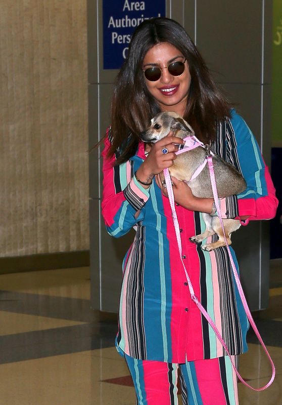 Priyanka Chopra - JFK Airport in New York 06/17/2017