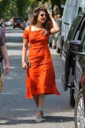 "Priyanka Chopra - On the Set of Her New Film ""A Kid Like Jake"" in Brooklyn, NY 06/19/2017"