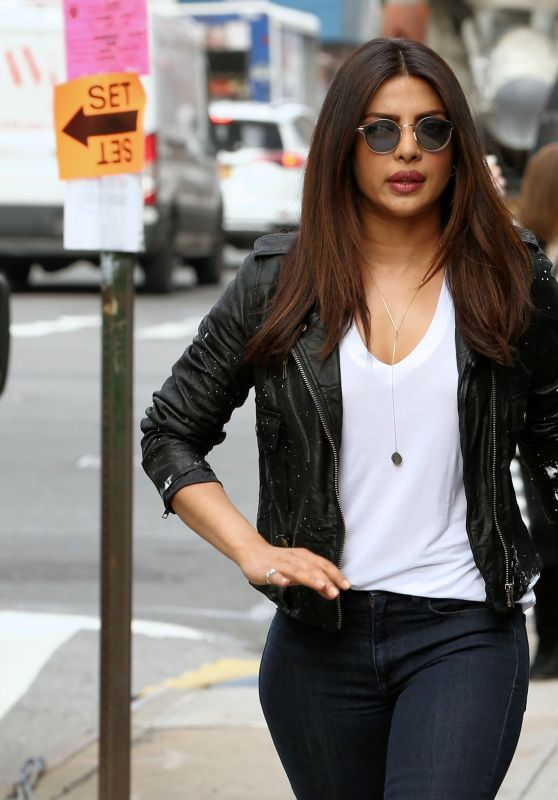 "Priyanka Chopra - ""Quantico"" Set in New York, May 2017"