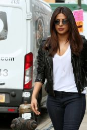 "Priyanka Chopra - ""Quantico"" Set in New York, May 2017"
