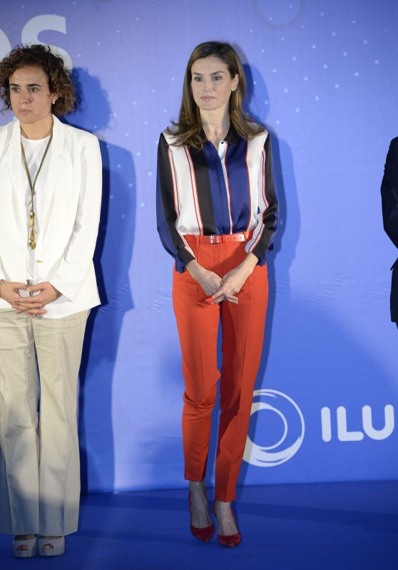 Queen Letizia of Spain at the IV edition of Discapnet awards in Madrid 06/26/2017