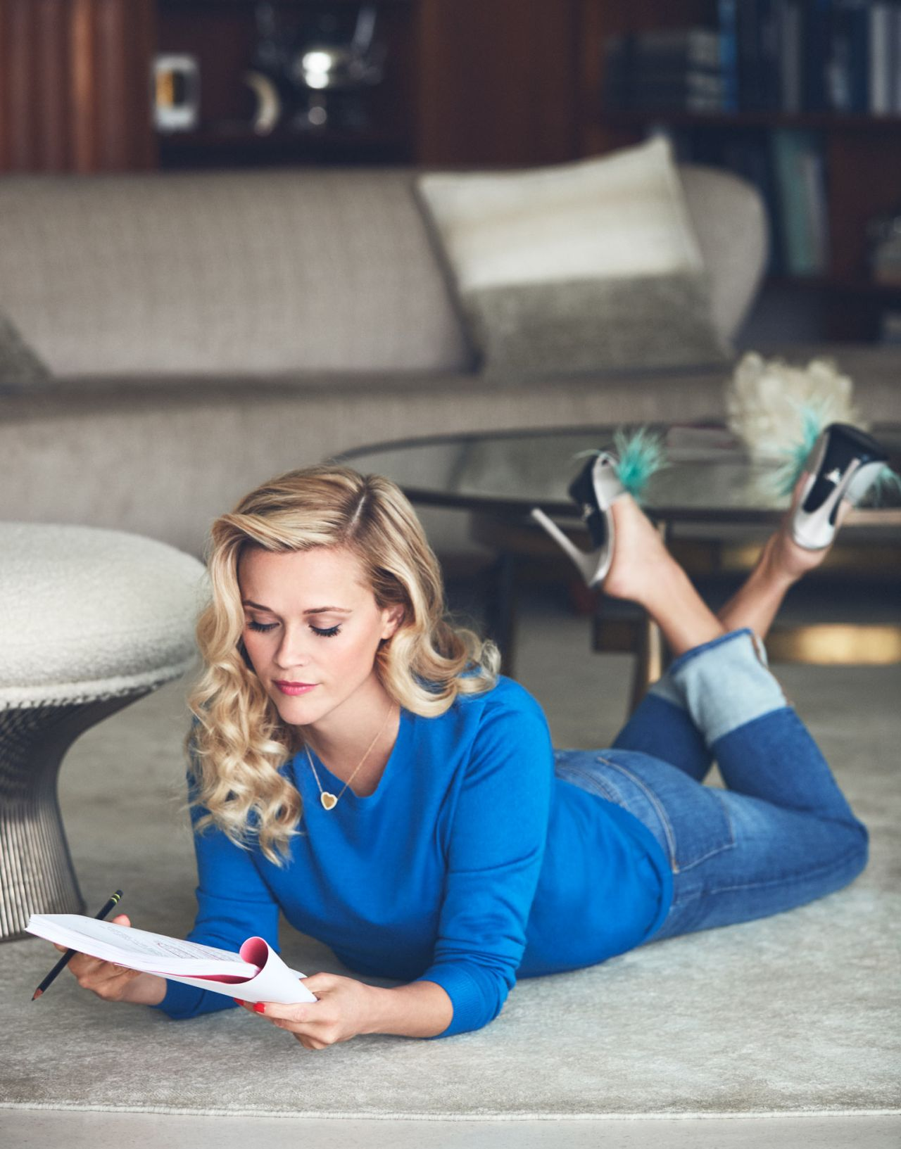 Reese witherspoon the edit magazine june 2019 cover and photos