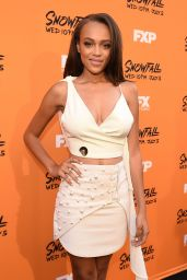 """Reign Edwards – """"Snowfall"""" Premiere at Ace Hotel in Los Angeles 06/26/2017"""