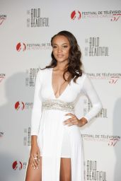 """Reign Edwards – """"The Bold and the Beautiful"""" Anniversary Event at Monte Carlo TV Festival 06/18/2017"""