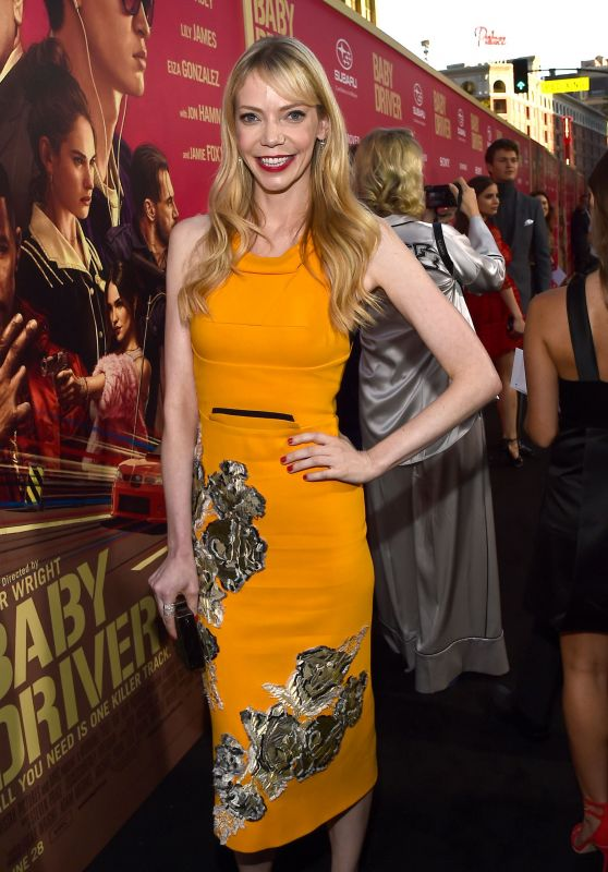"Riki Lindhome – ""Baby Driver"" Premiere in Los Angeles 06/14/2017"