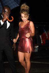 Rita Ora Arriving for the Gig in Mayfair, London 06/27/2017