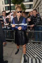 Rita Ora at BBC Radio 2 in London 06/30/2017